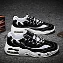 זול נעלי ספורט לגברים-בגדי ריקוד גברים אור סוליות רשת סתיו חורף ספורטיבי / יום יומי נעלי אתלטיקה ריצה / הליכה נושם שחור / לבן / בז'