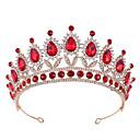 povoljno Party pokrivala za glavu-Kristal / Legura tijare s Crystal / Rhinestone / Metal 1 kom. Vjenčanje Glava