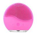 זול מכשיר לטיפול פנים-ניקוי פנים קולי חשמלי לניקוי פנים מברשת שטיפת פנים רטט עור מסיר חטט נקבוביות מנקה עיסוי נטענת usb