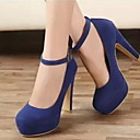povoljno Ženske sandale-Žene Cipele na petu Stiletto potpetica Okrugli Toe Sintetika Ljeto Crn / Lila-roza / Plava
