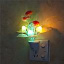 זול קישוט אורות-1pc LED לילה אור / תקע בקיר / אור הלילה החכם לילדים / סרט מצויר <5 V