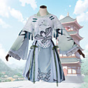 povoljno Anime kostimi-Inspirirana Čudo Nikki Cosplay Anime Cosplay nošnje Japanski Kimono Suknje / Kaput / Top Za Žene