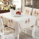 זול כיסויי שולחן-יום יומי סיבי פוליאסטר ריבוע כיסויי שולחן לוח קישוטים