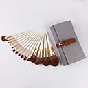 זול סטים של מברשות איפור-מקצועי מברשות איפור 15pcs מקצועי רך נוח עץ / במבוק ל מברשת איפור