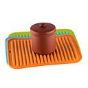 abordables Vaisselle-30.0 cm * 23.0 cm d'épaisseur napperon en silicone imperméable table coussin isolant tapis de cuisson tapis de couleur unie étudiant nappemat des enfants 1pc
