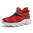 זול נעלי ילדים אתלטי-בנים / בנות נוחות Flyknit נעלי אתלטיקה ילדים קטנים (4-7) / ילדים גדולים (7 שנים +) הליכה צהוב / אדום קיץ / סתיו / גומי
