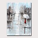 זול ציורי נוף-ציור שמן צבוע-Hang מצויר ביד - L ו-scape אנשים מודרני ללא מסגרת פנימית