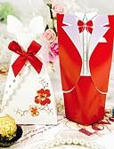 رخيصةأون هدايا المساند للحضور-دائري مربع خلاق أوراق البطاقة صالح حامل مع شرائط طبع صناديق هدايا - 12