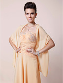 cheap Mother of the Bride Dresses-Chiffon Wedding / Party Evening Women's Wrap With Shawls