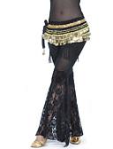 hesapli Göbek Dansı Giysileri-Göbek Dansı Alt Giyimler Kadın's Eğitim Polyester Dantel Doğal Pantalonlar