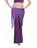 hesapli Göbek Dansı Giysileri-Göbek Dansı Göbek Dansı Hip Şalları Kadın's Eğitim ChinIon Püsküllü Göbek Dansı Kalça Atkısı