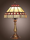 olcso Karóra tartozékok-Asztali lámpa Tiffany - Fém