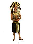 זול מארזי AirPods-אתני ודתי תחפושות מצריות תחפושות קוספליי בגדי ריקוד גברים האלווין (ליל כל הקדושים) קרנבל ראש השנה פסטיבל / חג פּוֹלִיאֶסטֶר בגדי ריקוד גברים תחפושות קרנבל / כובע