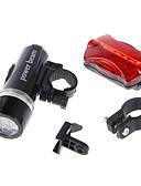 baratos Trench Coats e Casacos Femininos-Lanternas LED / Luz Frontal para Bicicleta / Luz Traseira Para Bicicleta LED Ciclismo Impermeável, Multi funções, Alarme AAA 100 lm Bateria Ciclismo