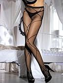 رخيصةأون Women's Sexy Clothing-للمرأة رفيع جوارب طويلة-جاكوارد