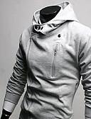 ieftine Tricou Bărbați-Bărbați Palton Jachetă Șic & Modern-Mată,Stil modern