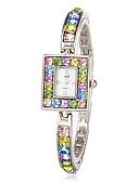 preiswerte Armband-Uhren-Damen Armband-Uhr Japanisch Imitation Diamant Band Glanz / Modisch / Elegant Mehrfarbig
