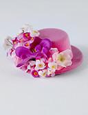 ieftine Accesorii Păr de Petrecerere-Cristal Material Textil Mătase  Diademe Flori 1 Nuntă Ocazie specială Party / Seara Casual Diadema