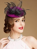 cheap Women's Headpieces-Gemstone & Crystal / Wool Fascinators / Hats / Headpiece with Crystal 1 Wedding / Special Occasion / Party / Evening Headpiece