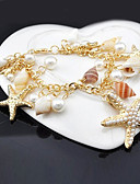 cheap Women's Shirts-Women's Charm Bracelet - Shell Bracelet For Party Daily