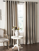 cheap Fashion Belts-Curtains Drapes Living Room Contemporary Polyester Embossed