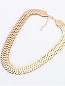 preiswerte Damen Kleider-Damen Statement Ketten - Personalisiert, Europäisch Gold, Silber Modische Halsketten Für