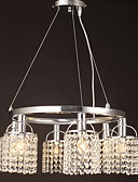 ieftine Ceasuri de Lux-SL® Cristal Lumini pandantiv Lumini Ambientale - Cristal, 110-120V / 220-240V / 20-30㎡ / E12 / E14