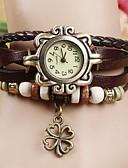 cheap Bracelet Watches-Women's Bracelet Watch Quartz Casual Watch PU Band Analog Bohemian Fashion Black / White / Blue - Red Green Blue One Year Battery Life / Jinli 377