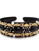 preiswerte Herrenjacken & Herrenmäntel-Künstliche Perle / Kubikzirkonia / Baumwollflanell Stirnbänder mit 1 Hochzeit / Besondere Anlässe / Draussen Kopfschmuck / Aleación