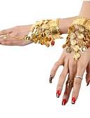 hesapli Göbek Dansı Giysileri-Dans Aksesuarları Mücevher Kadın's Payetli / Metal Madeni Para / Püsküllü Yılbaşı / Cadılar Bayramı