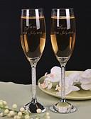 preiswerte Hochzeitsgeschenke-Toasting Fließend ( Kristall ) - individualisiert - Klassisches Thema