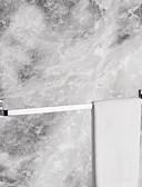 abordables Vestidos para Fiesta de Boda-Barra para Toalla Cool Moderno Latón 1pc - Baño / Baño del hotel Barra de 1 toalla Colocado en la Pared