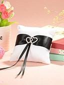 cheap Fashion Watches-Sash Satin Ring Pillow Garden Theme