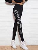 ieftine Leggings-Pentru femei Sport Imprimeu Legging - Imprimeu Talie medie