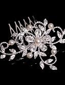preiswerte Hochzeitskleider-Krystall / Stoff / Aleación Tiaras / Haarkämme mit 1 Hochzeit / Besondere Anlässe / Party / Abend Kopfschmuck