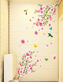 cheap Men's Downs & Parkas-Florals Cartoon Wall Stickers Plane Wall Stickers Decorative Wall Stickers, PVC Home Decoration Wall Decal Wall