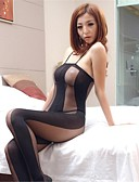 preiswerte Sexy Körper-Damen Spitze Dessous / Besonders sexy / Teddy Nachtwäsche - Gitter Solide / Gurt / Anzüge