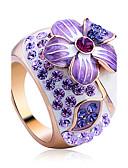 preiswerte Damen Pullover-Damen Kristall Statement-Ring - Aleación Blume Luxus, Modisch Eine Größe Für Party