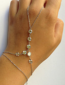 זול שמלות נשים-צמידי טבעת - עיצוב מיוחד, אופנתי צמידים זהב / כסף עבור Party מתנה אָהוּב