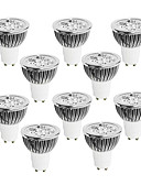 cheap Women's Pants-10pcs 4W 400-450 lm GU10 LED Spotlight 4 leds High Power LED Dimmable Warm White Cold White White 220-240