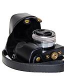 billige Trendy klokker-dengpin pu skinnkameraveske bag Deksel til Sony ilce-6000L ilce-6000 A6000 med 16-50mm objektiv (assorterte farger)
