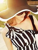 abordables Lencería de Mujer-Mujer Sombrero de Paja Casual - Verano - Lino/Paja
