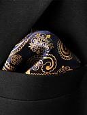 olcso Férfi nyakkendők és csokornyakkendők-Férfi Színes Paisley Alap Műselyem, Party Munkahelyi Alap - Nyakkendő