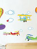 billige Poloskjorter til herrer-Dyr Romantik Mote Tegneserie Veggklistremerker Fly vægklistermærker Dekorative Mur Klistermærker, PVC Hjem Dekor Veggoverføringsbilde
