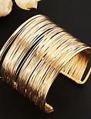 cheap Women's Skirts-Women's Layered / Hollow Cuff Bracelet / Wide Bangle - Unique Design, Vintage, Party Bracelet Gold For Party / Daily