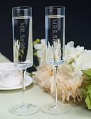 preiswerte Hochzeitsgeschenke-Toasting Fließend (Bleifreies Glas) - individualisiert - Klassisches Thema