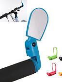 baratos Meias & Meias Calças-Bar End Bike Espelho / Espelho Retrovisor Ciclismo de Lazer / Ciclismo / Moto / Bicicleta  Roda-Fixa ABS Amarelo / Vermelho / Azul