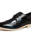 ieftine Ceasuri de Lux-Bărbați Bullock Pantofi Imitație Piele Primăvară / Toamnă Oxfords Plimbare Anti-Alunecare Auriu / Argintiu / Albastru / Nuntă / Party & Seară