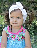 tanie Dziecięce Ozdoby do włosów-Akcesoria do włosów - Dla dziewczynek - Na każdy sezon - Bawełna - Opaski na głowę - Fuchsia Czerwony Green Różowy Light Blue