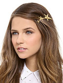 cheap Fashion Headpieces-Women's Cute Party Work Alloy Hair Clip - Solid Colored